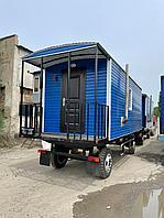 Вагончик на колесах жилой, фото 1