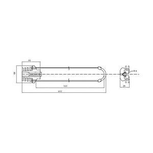Анкерный зажим, А-Оптик, АО-PA-07-520