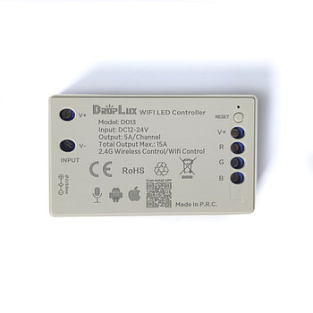 WIFI RGB Контроллер 180W (работает с RFBT15/APP TUYA)