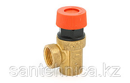 """Клапан предохранительный Ду 15 (1/2"""") P=6,0 бар внутр./внутр. Uni-Fitt"""