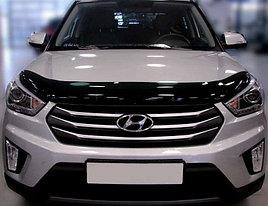 Дефлектор капота Hyundai Creta (2016-2021)