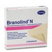 """Повязка """"Бранолинд Н"""" мазевая с перуанским бальзамом стерильная 10х20см"""