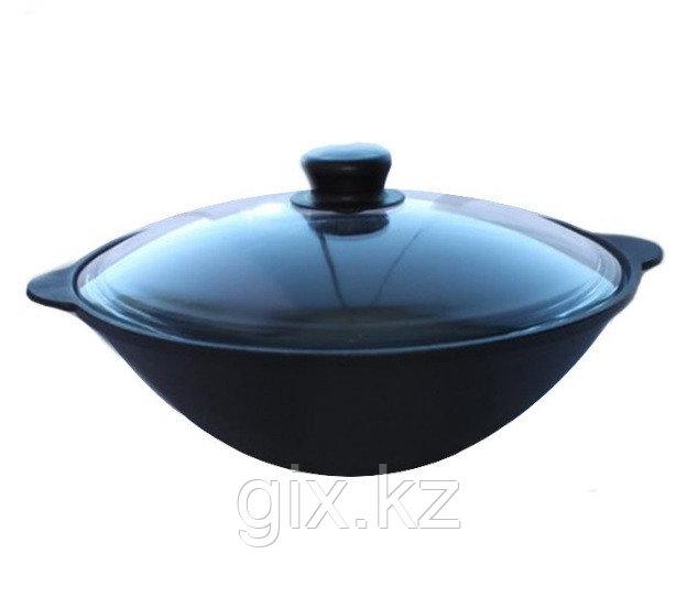 Сковорода Вок 3,5л со стеклянной крышкой