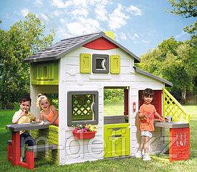 Домик для друзей с кухней и звонком 810202 Smoby