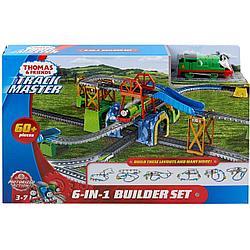 """Томас и друзья. Игровой набор """"Железная дорога 6 в 1"""" с моторизированным поездом"""