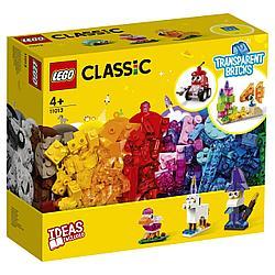 11013 Lego Classic Прозрачные кубики, Лего Классик