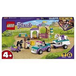 41441 Lego Friends Тренировка лошади и прицеп для перевозки, Лего Подружки