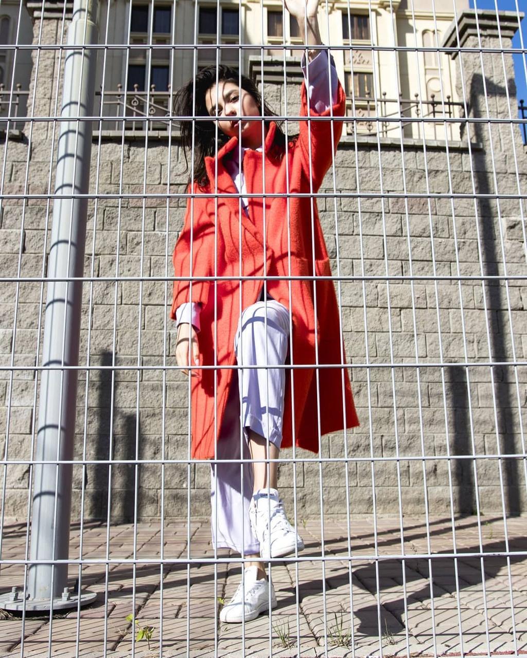 Красный кардиган (Hanym, 2021)