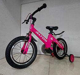 """Детский велосипед """"Alton"""" 14 колеса. Алюминиевая рама. Легкий. Kaspi RED. Рассрочка."""