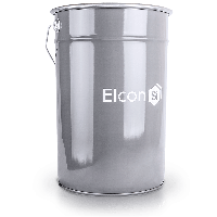 Термостойкая эмаль Elcon до +700°С.(серебристый )