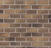 Фасадная плитка Бельгийский Кирпич Технониколь HAUBERK (2 кв.м/уп)