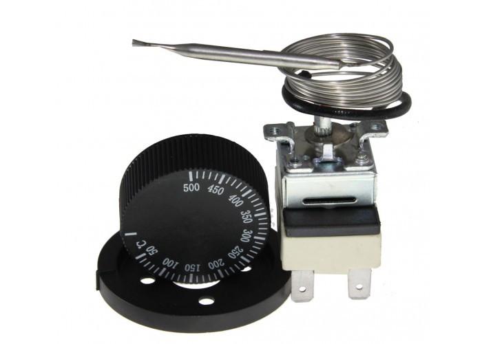 Термостат капиллярный WZA-500E 50-500С с ручкой 16A