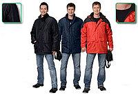 Куртка утепленная Город 112-116, 182-188, Чёрный