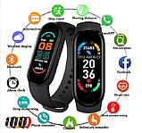 Фитнес браслет Smart Band M6 с измерением давления, пульса и кислорода в крови., фото 3