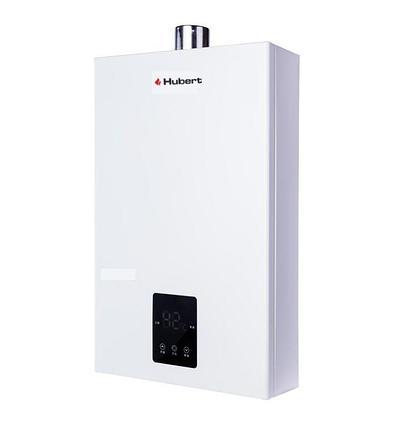 Газовый проточный водонагреватель HUBERT AGW 20 М (поджиг от батареек), фото 2