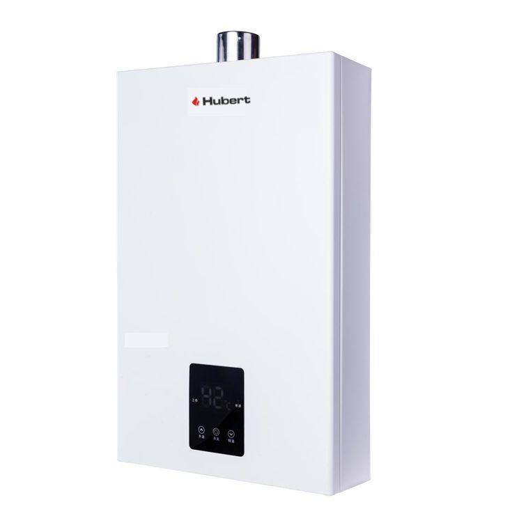 Газовый проточный водонагреватель HUBERT AGW 24 М (поджиг от батареек)