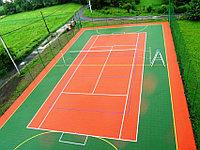 Монтаж волейбольного поля