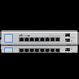 UniFi Коммутатор 8 портовый (150 Вт). UniFi Switch 8 150W, фото 2
