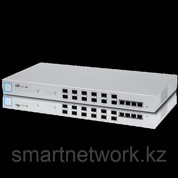 Коммутатор агрегации 16 портовый 10-гигабитный . Managed 16-port 10-Gigabit Switch