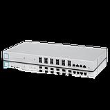 Коммутатор агрегации 16 портовый 10-гигабитный . Managed 16-port 10-Gigabit Switch, фото 2