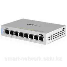 8-Port Fully Managed Gigabit Switch with POE passthrough