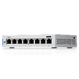 8-Port Fully Managed Gigabit Switch with POE passthrough, фото 2