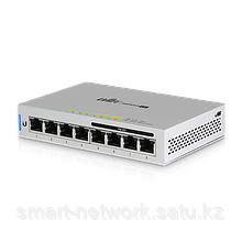 8-Port Fully Managed Gigabit Switch with 4 IEEE 802.3af Includes 60W Power Supply