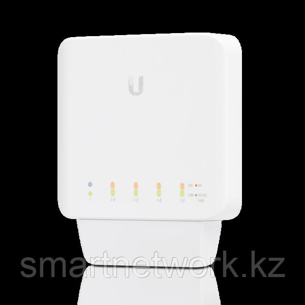 3-Pack UniFi Indoor/outdoor 5Port Poe Gigabit Switch with 802.3bt Input Power Support