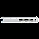 24-портовый управляемый коммутатор PoE и SFP. UniFi 24Port Gigabit Switch with PoE and SFP, фото 2