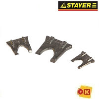Клинья металлические плоские (3 шт; 2, 3, 4 мм) STAYER 20990-H3