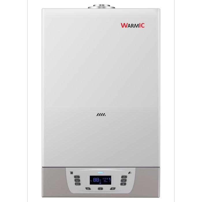 Настенный газовый котел Warmic 28 kw + ДЫМОХОД