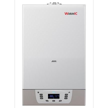 Настенный газовый котел Warmic 36 kw + ДЫМОХОД, фото 2