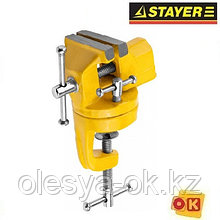 Тиски 70 мм настольные поворотные STAYER STANDARD