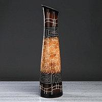 """Ваза напольная """"Стелла"""", абстракции, 67 см, микс, керамика"""