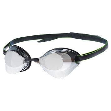 Очки для плавания стартовые Turbo Racer II Mirror, M0458 07 0 01W, цвет чёрный