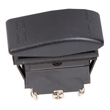 Переключатель Skipper SW30F18163P, пластик черный, -16АА, 12V