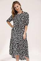 Женское летнее из вискозы большого размера платье Lyushe 2674 44р.
