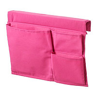 Карман для кровати Стиккат, размер 30х39 см, цвет розовый