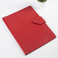 Папка для документов на клапане, 2 комплекта, цвет красный