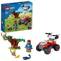 Lego 60300 Город Спасательный вездеход для зверей