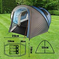 Палатка MIMIR-930 четырехместная двухслойная автомат