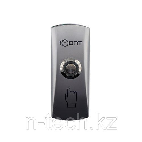 IButton-01 Кнопка выхода металлическая накладная (NO контакты)
