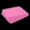 Простыни Ч 17гр 20шт 200*80см одноразовые розовые нарезанные