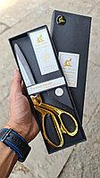 Ножницы с золотыми ручками размер 9.5