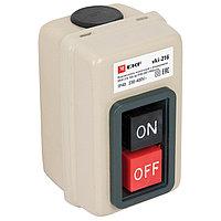 Выключатель кнопочный с блокировкой ВКИ-216, 3P, 10А IP40_EKF PROxima