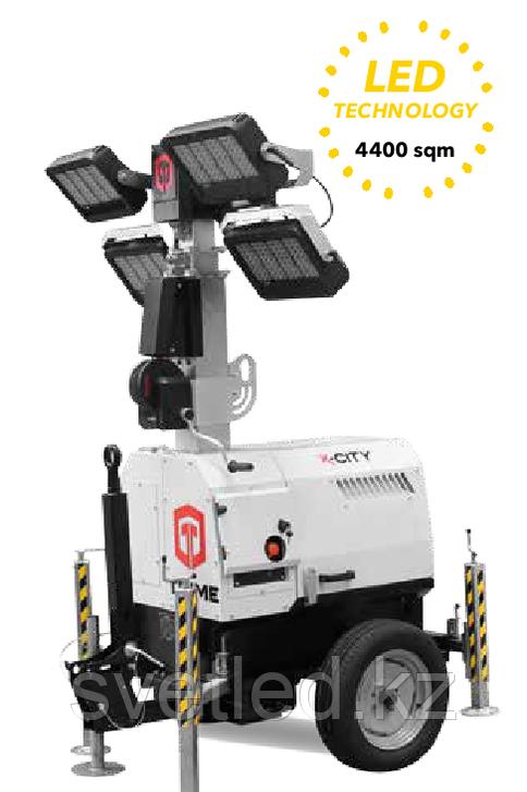 Дизельная осветительная башня TRIME X-CITY 4X320W LED (7м)