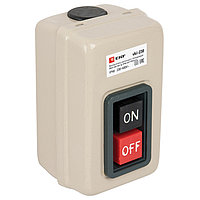 Выключатель кнопочный с блокировкой ВКИ-230, 3P, 16А IP40_EKF PROxima