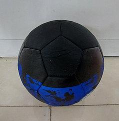 Хороший футбольный мяч Черный. Kaspi RED. Рассрочка