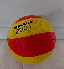Хороший волейбольный мяч Mikasa. Kaspi RED. Рассрочка