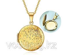 "Кулон-медальон на цепочке ""Медальончик для фото"""